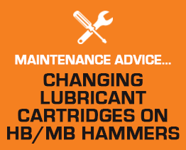 Changing Lubricant Cartridge