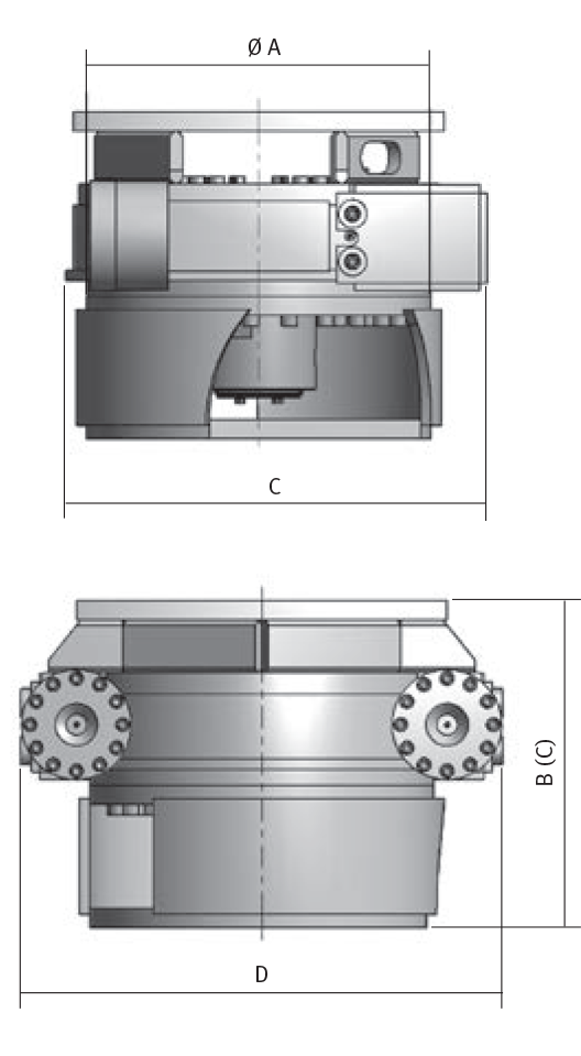 ERU Rotating Cutter Technology- diagram