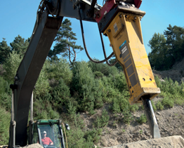 New Model Atlas Copco MB1650 Hammer